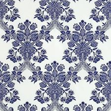 Ultramarine Drapery and Upholstery Fabric by Schumacher