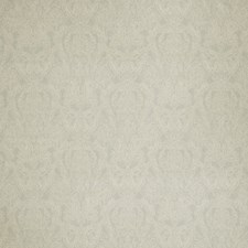 Grey Paisley Drapery and Upholstery Fabric by Stroheim