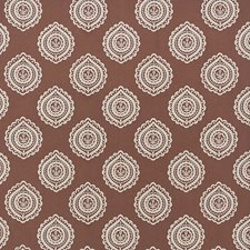 Cafe Mocha Drapery and Upholstery Fabric by Schumacher