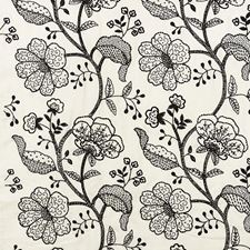 Ink Drapery and Upholstery Fabric by Schumacher