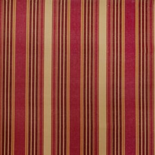 Cranberry Stripes Drapery and Upholstery Fabric by Trend