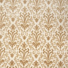 Fresh Gold Print Pattern Drapery and Upholstery Fabric by Trend