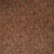 Garden Spice Paisley Drapery and Upholstery Fabric by Trend