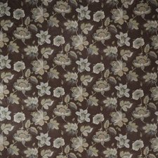 Truffle Floral Drapery and Upholstery Fabric by Trend