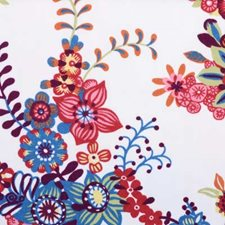 Berry Floral Large Drapery and Upholstery Fabric by B. Berger