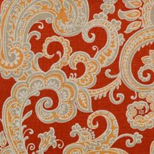 Flame Drapery and Upholstery Fabric by B. Berger