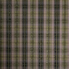 Plum Check Drapery and Upholstery Fabric by Trend