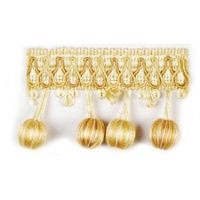 Beaded Gold Trim by Duralee