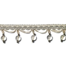 Beaded Silver Trim by Duralee