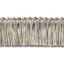 Fringe Silver Trim by Duralee
