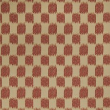 Scarlet Flamestitch Drapery and Upholstery Fabric by Trend