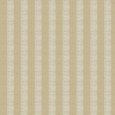 Flax Stripes Drapery and Upholstery Fabric by Trend