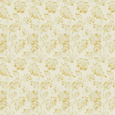Lemon Zest Floral Drapery and Upholstery Fabric by Trend