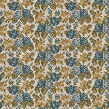 Lake Como Floral Drapery and Upholstery Fabric by S. Harris