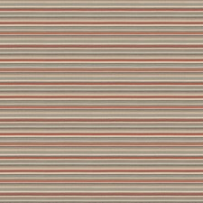 Coral Sea Stripes Drapery and Upholstery Fabric by S. Harris