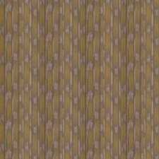 Verde Scoop Stripes Drapery and Upholstery Fabric by S. Harris