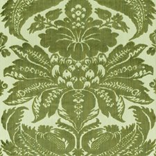 Olivine Drapery and Upholstery Fabric by Schumacher