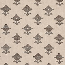 Brown Drapery and Upholstery Fabric by Schumacher