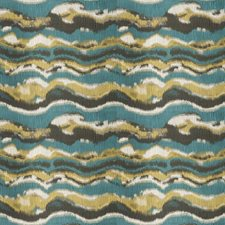 Parrot Geometric Drapery and Upholstery Fabric by Fabricut