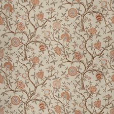 Sienna Floral Drapery and Upholstery Fabric by Fabricut