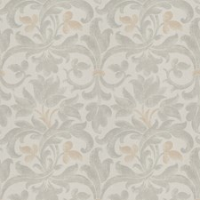 Dove Floral Drapery and Upholstery Fabric by Fabricut