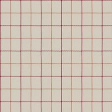 Cherry Check Drapery and Upholstery Fabric by Trend