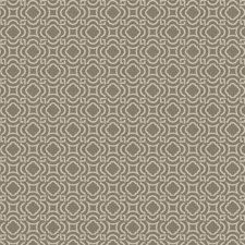 Grey Lattice Drapery and Upholstery Fabric by Trend