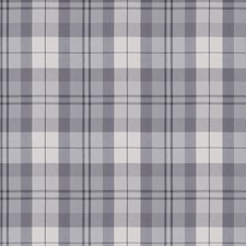 Silver Check Drapery and Upholstery Fabric by Fabricut