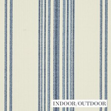 Navy Drapery and Upholstery Fabric by Schumacher