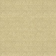 Cream Geometric Drapery and Upholstery Fabric by Brunschwig & Fils