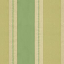 Green Stripes Drapery and Upholstery Fabric by Brunschwig & Fils
