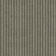 Charcoal Stripes Drapery and Upholstery Fabric by Brunschwig & Fils