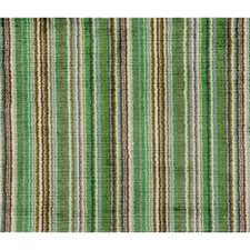 Emerald Stripes Drapery and Upholstery Fabric by Brunschwig & Fils