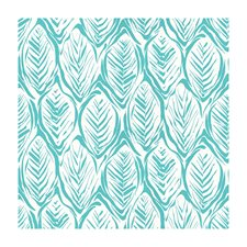 Aqua Tropical Drapery and Upholstery Fabric by Brunschwig & Fils