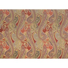 Tumeric Paisley Drapery and Upholstery Fabric by Brunschwig & Fils