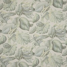 Seafoam Tropical Drapery and Upholstery Fabric by Brunschwig & Fils
