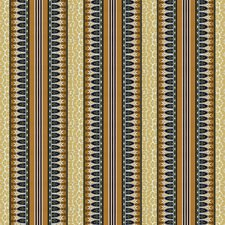 Mustard Stripes Drapery and Upholstery Fabric by Brunschwig & Fils