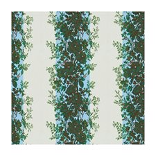 Blue/Green Botanical Drapery and Upholstery Fabric by Brunschwig & Fils