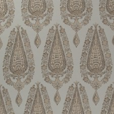 Spa/Beige Paisley Drapery and Upholstery Fabric by Brunschwig & Fils