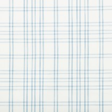 Light Blue Plaid Drapery and Upholstery Fabric by Brunschwig & Fils