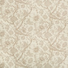 Teak Toile Drapery and Upholstery Fabric by Brunschwig & Fils