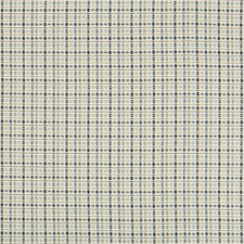 Blue/Tan Texture Drapery and Upholstery Fabric by Brunschwig & Fils