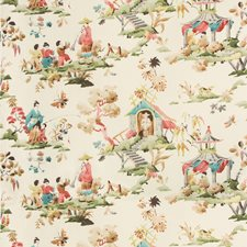 Meadow Asian Drapery and Upholstery Fabric by Brunschwig & Fils