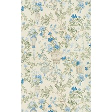 Delft Asian Drapery and Upholstery Fabric by Brunschwig & Fils