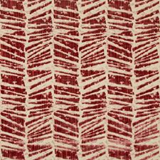 Red Modern Drapery and Upholstery Fabric by Brunschwig & Fils