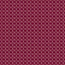 Magenta Geometric Drapery and Upholstery Fabric by Stroheim
