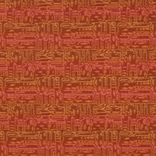 Tigerlily Geometric Drapery and Upholstery Fabric by S. Harris