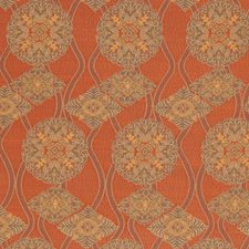 Cinnabar Global Drapery and Upholstery Fabric by S. Harris