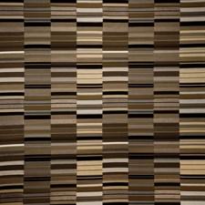 Night Geometric Drapery and Upholstery Fabric by S. Harris