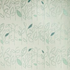 Spearmint Tropical Drapery and Upholstery Fabric by S. Harris
